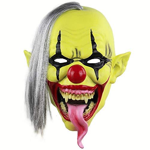 Böse Clown Kostüm Masken - YDXJJ Halloween Maske Joker Clown Kostüm