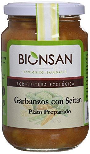 Bionsan Cocido de Garbanzos con Seitán - 6 Paquetes de 220 gr