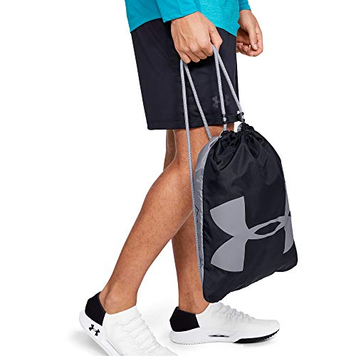 Best under armour bag in India 2020 Under Armour Synthetic 14 inches Black Drawstring Gym Bag (1240539) Image 5