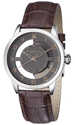 41A0mTYuEfL - Stuhrling Original Grey Mens 650.03 watch