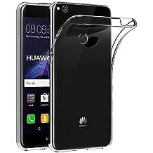 Funda Huawei P8 Lite 2017, AICEK Transparente Silicona Fundas para P8 Lite 2017 Carcasa (5,2 Pulgadas) Silicona Funda Case