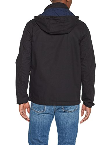 Tommy Jeans Herren Jacke Tjm Essential Anorak Schwarz (Tommy Black 078)