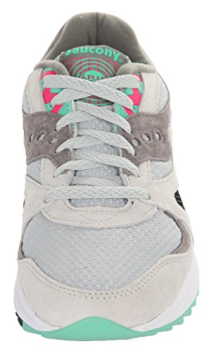 Saucony Originals Herren Grid 8000 Cl Sneaker Light Grey-Dark Grey