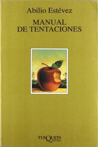 Portada del libro Manual de tentaciones (.)