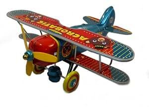 Avion de collection en métal, Acrobatic Bear Plane, St. John