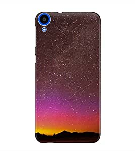 The Fappy Store sky full of stars plastic back cover For htc desire 820