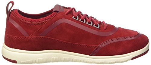 Geox U Xunday 2fit B, Low-Top Chaussures homme Rouge