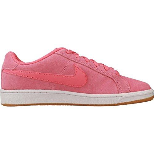 Nike Wmns Court Royale Suède, Sneakers Femme Rose (sea Coralsea Coralgum Light 800)