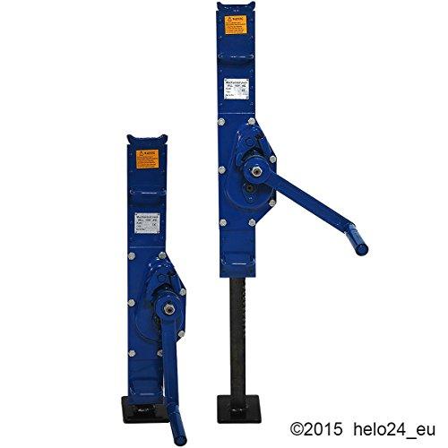 ZSW-1500 K Hubwinde 1,5 Tonnen in Blau -