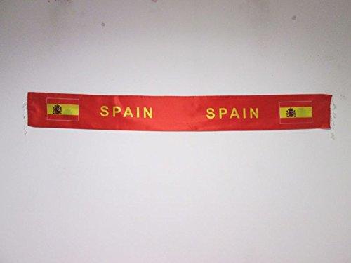 Bufanda de España para hinchas – Bufandas de raso española 150 cm – AZ FLAG