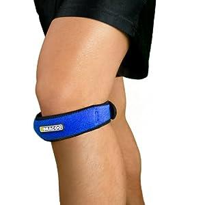 BRACOO KP40 Patellaband – Patella Bandage – verstellbarer Kniegurt fürs Laufen, Wandern und Fußball
