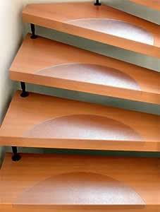 Stufenmatte aus Polycarbonat 64 cm x 25 cm 15 St/ück