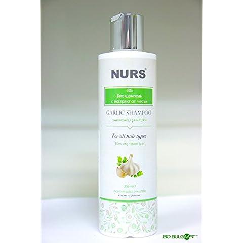Aglio Shampoo 200ml Unscented   Nurs stimolatore crescita dei capelli Shampoo contro perdita di capelli stimolatore crescita Anti Forfora