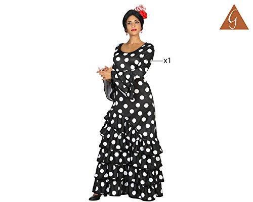 Imagen de atosa 16957–flamenco de mujer, para mujer disfraz, tamaño xl, 42/44, negro alternativa