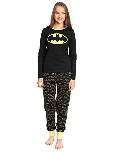 Batman Logo Pigiama nero XS