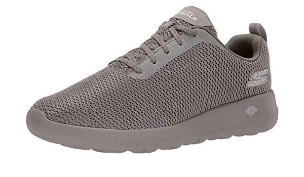 Skechers GO Walk Max Mens Walking Sneakers Taupe 9: Amazon