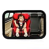 Specchio Auto Bambino,specchietto retrovisore bambino,Specchio Retrovisore Interno per Auto Sedile Posteriore per Vigilare i bambini,regolabile,vista a 360 gradi,300 x 190mm