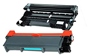 Compatible TN660 TN2320 Cartouche de Toner + Tambour DR-2300 pour Imprimante Laser Brother HL-L2300D, HL-L2340DW, HL-L2360DN, HL-L2365DW, DCP-L2500D, DCP-L2520DW, DCP-L2540DN, DCP-L2560DW, MFC-L2700DW, MFC-L2720DW, MFC L2740DW
