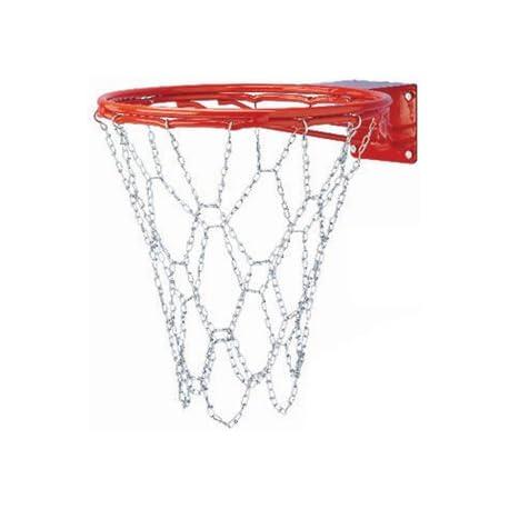Gared acero cadena Red de baloncesto para doble bumped ring objetivos