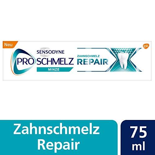 Sensodyne ProSchmelz Repair Zahnpasta, tägliche Zahnpasta mit Fluorid, 1x75ml, repariert nachweislich durch Säuren geschwächten Zahnschmelz -