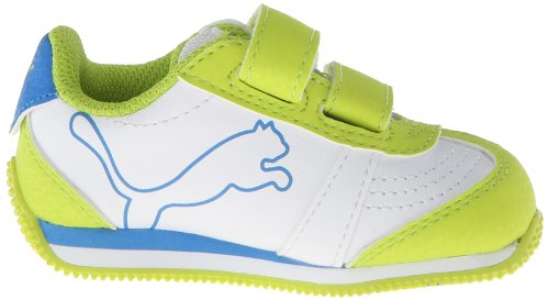 Puma Speeder Illuminescent Synthétique Baskets White/Lime Punch/French Blue