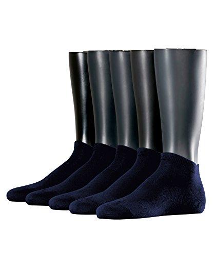 ESPRIT Herren Solid Sneakersocken, Blau (marine 6120), 40/46 (erPack 5