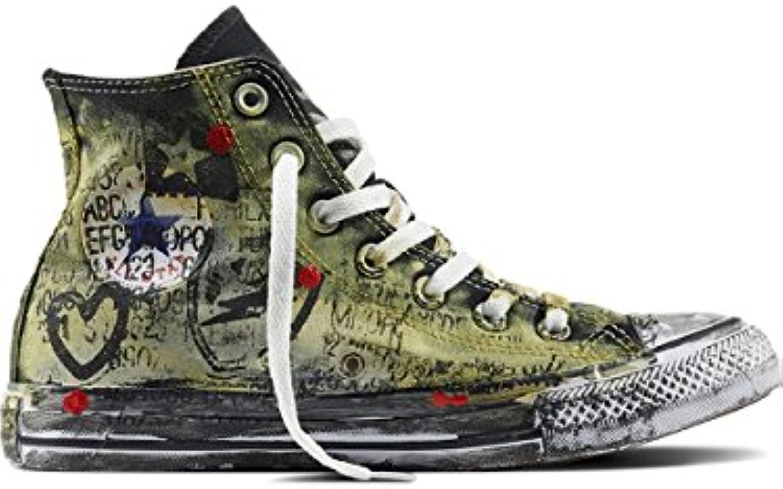 Converse Unisex Adulto, all Star Chuck Taylor Taylor Taylor High Canvas Ltd, Tela, scarpe da ginnastica Alte, Nero | Di Alta Qualità  f1425d