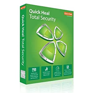 Quick Heal Total Security Latest Version - 1 PC, 1 Year (DVD)