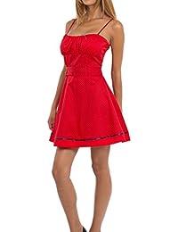 AO Petticoat Träger Kleid Rockabilly Pin Up Gr. XS - M