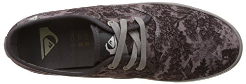 Quiksilver Aqys300034, Baskets Basses Homme Noir (Black/White/Grey Xkws)