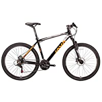 JAVA Passo 27.5 inch Aluminum Mountain Bike MTB Bicycle with Shimano 21 Speed (Orange/Black, M)