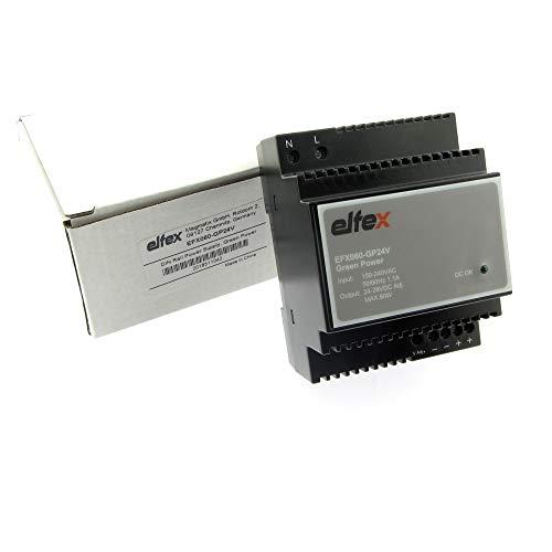 elfex Hutschienen-Netzteil 60W, 24V DC (einstellbar 24V-28V), EFX060-GP24V -