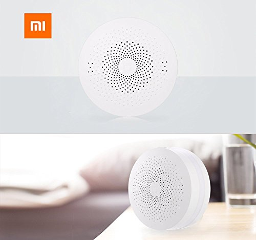 HAPQIN Original Xiaomi Mi Smart Gateway multifunzionale Upgrade WiFi Remote Center Control 16 milioni di luci RGB - Versione aggiornata