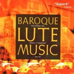 Kapsberger: Baroque Lute Music /O'Dette