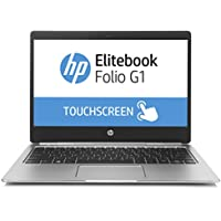 HP EliteBook Folio G1 Z2U98ES (12,5 Zoll UHD Touchdisplay) Laptop (Intel Core m7-6Y75 vPro, 512 GB SSD, 8 GB RAM, Windows 10) silber