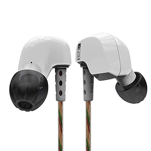 OPAKY Kopfhörer HiFi Sport Ohrhörer Kupfer Ohrbügel Ohr Typ In Ohr,für iPhone, iPad, Samsung, Huawei,Tablet usw.