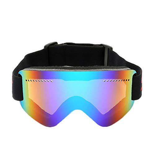 MaxAst Sport Brille Winddicht Skibrille Herren Damen Schutzbrille Antibeschlag Grün