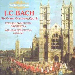 Preisvergleich Produktbild J.C.Bach Grand Overtures Op.18