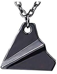 Collar - Origami - Avión de papel - One Direction - Harry - Styles - Directioner - Cosplay - Idea - Regalo - Chica