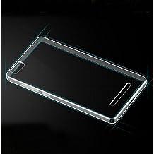 Prevoa ® 丨 XIAOMI Mi 4i Mi4C Funda - Silicona TPU Funda Case for XIAOMI Mi 4i Mi4C 5.0 Pulgadas Android Smartphone - Transparent