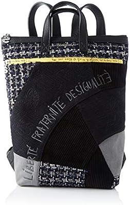 Desigual 19WAKA41 - Bolso mochila de Sintético Mujer 37x9x24 cm (B x H x T)