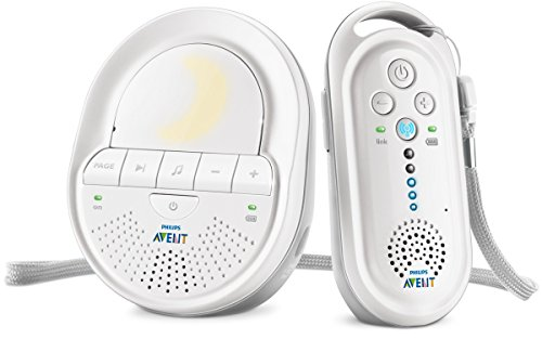 Philips Avent SCD506/26 - Vigilabebés digital con tecnología DECT, Smart ECO, recargable