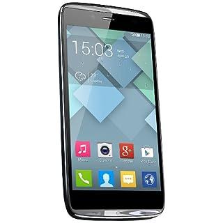 Alcatel Onetouch Idol Alpha 6032X Smartphone (11,9 cm (4,7 Zoll) Touchscreen, 13 Megapixel Kamera, 1,2GHz, Quad-Core Prozessor, Android 4.2) slate