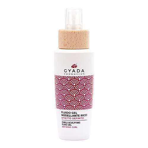 Gyada Cosmetics FLUIDO GEL MODELLANTE RICCI EFFETTO DEFINITO CERTIFICATO BIO MADE IN ITALY 125 ml