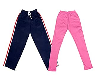 and 2 Cotton Printed Legging Pants Pack Of 4 /_Multicolor/_Size-4-5 Years/_71409101920-IW-P4-26 Indistar Girls 2 Cotton Solid Legging Pants