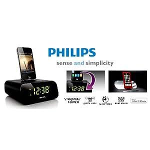 Philips AJ3270D/12 Clock Radio Dock Speaker for iPod/iPhone