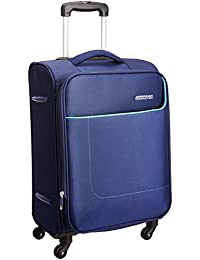 American Tourister Polyester 58 cms Navy Softsided Carry-On (AMT JAMAICA SP 58CM Navy Softsided)