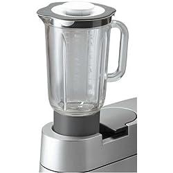 Kenwood AT338 Mixeur Bol en Verre 1,5 L Gris pour robot Chef et Major