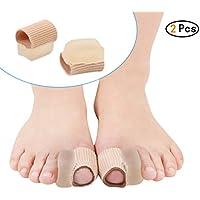 Hehong 2Pcs Fabric Toe Separators Bunion Relief Zehenspacer Set Zehenschutz preisvergleich bei billige-tabletten.eu