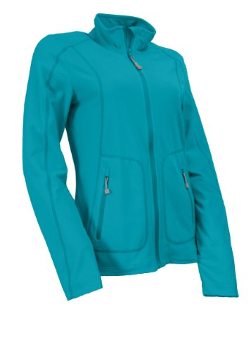 maier sports Nobande Veste légère en polaire pour femme Turquoise - capri blue / capri breeze